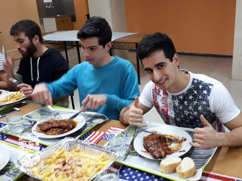 chicos comida americana