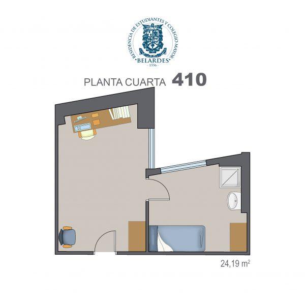 cuarta 410