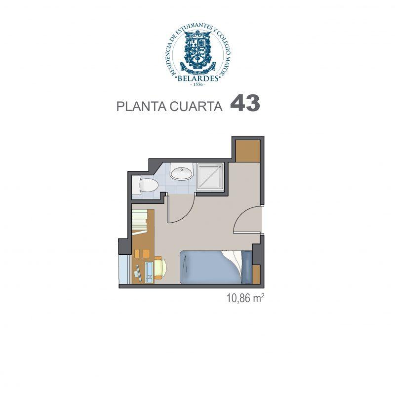 cuarta 43