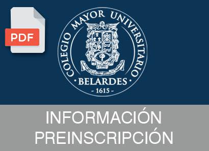 informacion preinscripcion