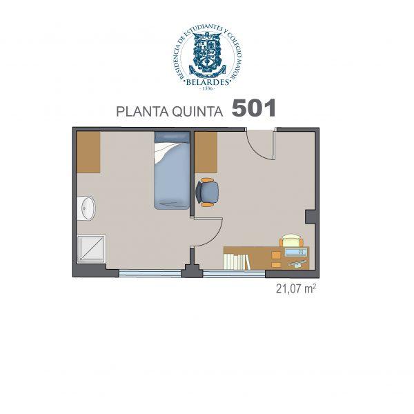 quinta 501