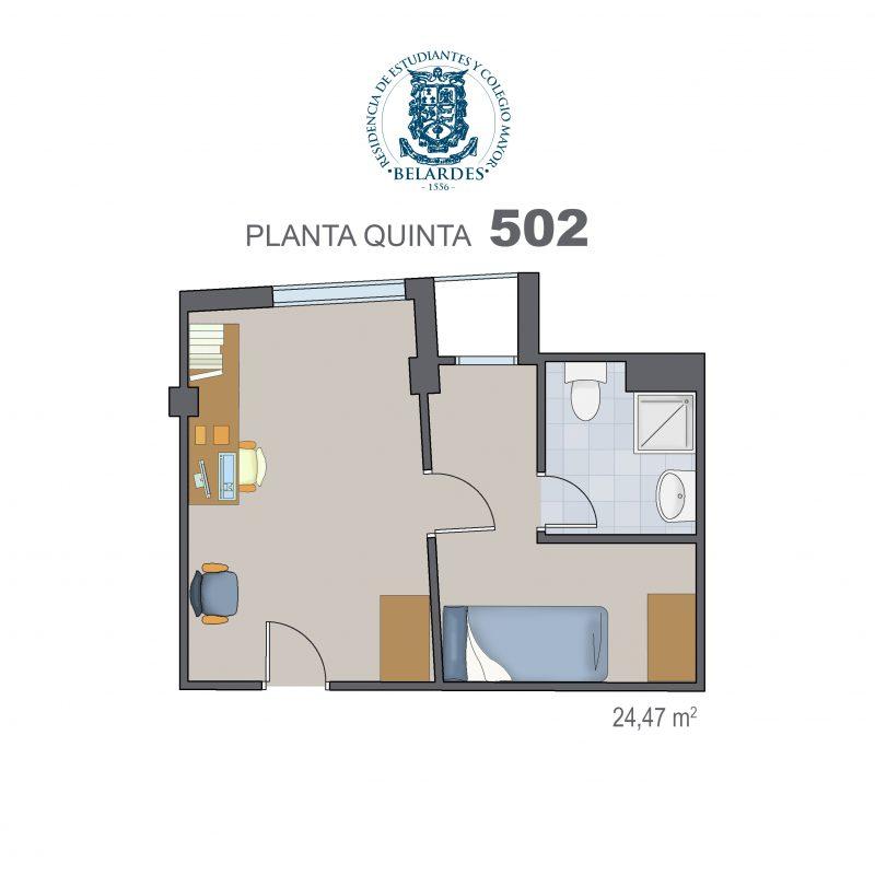 quinta 502