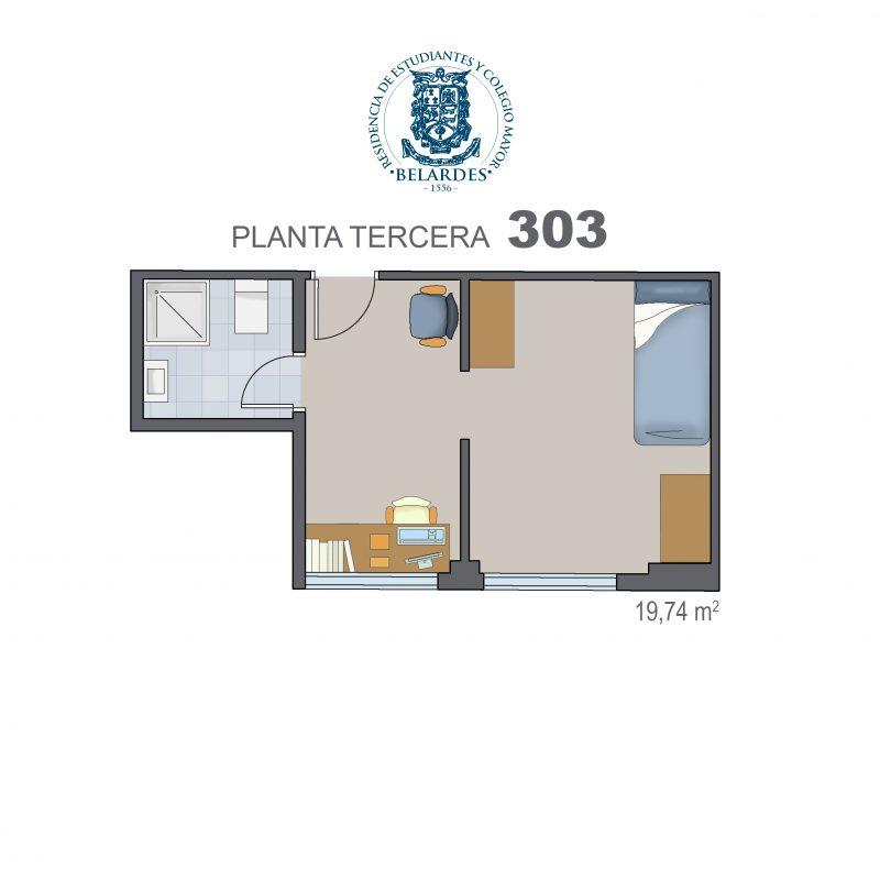 tercera 303