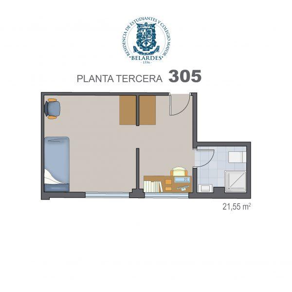 tercera 305